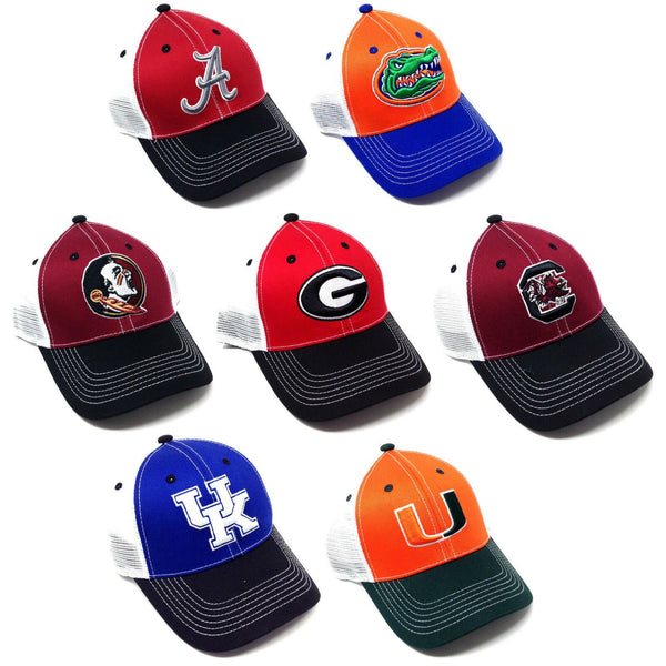NCAA Football Eliminator Adjustable Mesh Trucker Curved Bill Snapback Hat