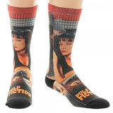 Miramax Pulp Fiction Mia Movie Poster Premium Sublimated Crew Socks