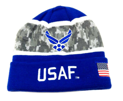 United States Armed Forces USA Military Knit Beanie Hat