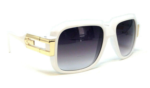 Gazelle Cosa Nostra Square Luxury Retro Hip Hop Sunglasses