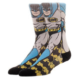 DC Comics Justice League Batman Retro Sublimated Mens Crew Socks