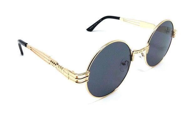 XL Oversized Round Luxury John Lennon Steampunk Sunglasses