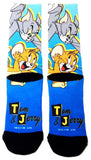 Tom & Jerry Premium Sublimated Crew Socks