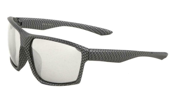 Gnarly Square Oversized Sport Sunglasses
