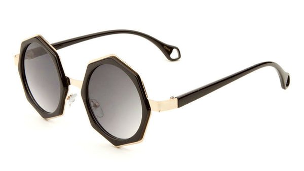 Octagon John Lennon Round Circle Geometric Luxury Sunglasses