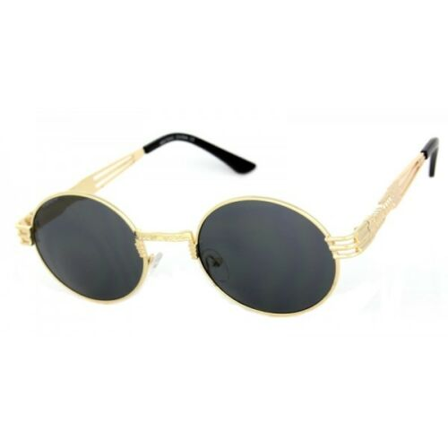 Classic Oval Luxury John Lennon Steampunk Sunglasses