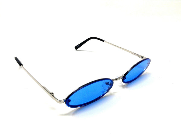 Slim Rimless Classic Oval Round Lennon Luxury Sunglasses