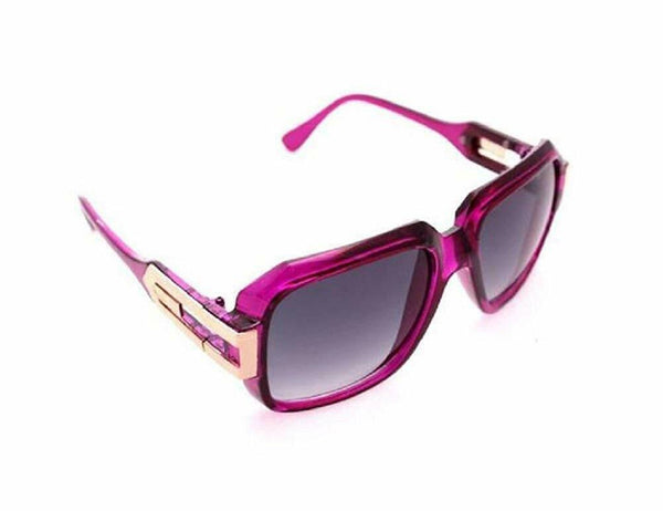 Gazelle Cosa Nostra Square Luxury Crystal Retro Hip Hop Sunglasses