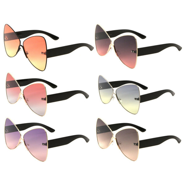 Butterfly XL Oversized Women's Cat Eye Luxury Sunglasses