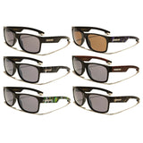 Biohazard Square Abstract Classic Sport Sunglasses