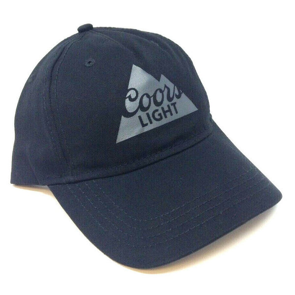 Black Coors Light Beer Classic Slouch Adjustable Hat