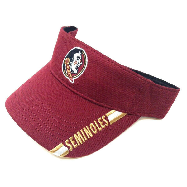 FSU Florida State University Seminoles Sun Visor Hat