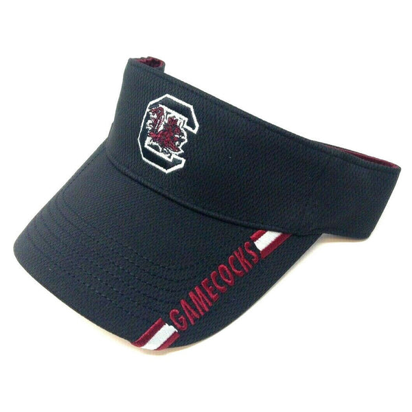 University Of South Carolina Gamecocks Sun Visor Black Hat