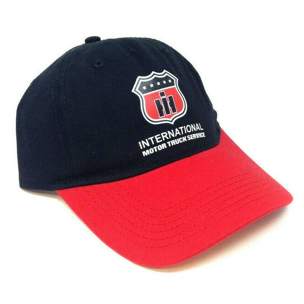 International Trucks Motor Truck Service Curved Bill Adjustable Hat