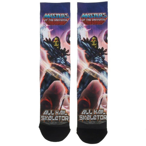 Masters of the Universe All Hail Skeletor Premum Sublimated All Over Print Men's Crew Socks