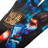 Mortal Kombat Sub Zero Action Pose Premium Sublimated Crew Socks