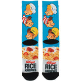 Kellogg's Rice Krispies Premium Sublimated All Over Print Men's Crew Socks