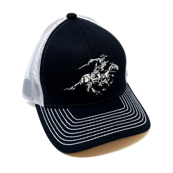 Winchester Horse & Rider Mesh Trucker Adjustable Curved Bill Hat