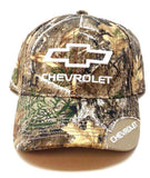 Chevrolet Wedge 3D Embroidered Bow Tie Text Logo Realtree Camo Adjustable Hat