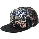 Venom Rubber Logo Sublimated All Over Print Snapback