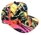 Teenage Mutant Ninja Turtles Sublimated All Over Print Snapback