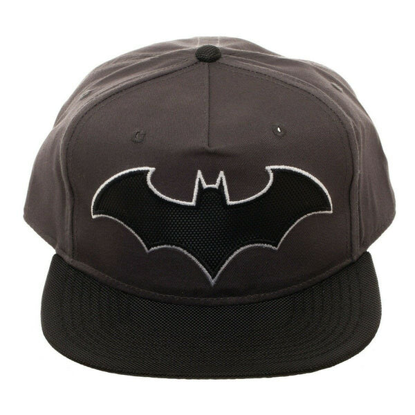 DC Comics Batman Classic 3D Embroidered Logo Flat Bill Snapback