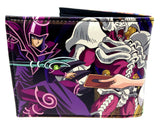 Yu-Gi-Oh! Sublimated Graphic Print PU Faux Leather Men's Bifold Wallet
