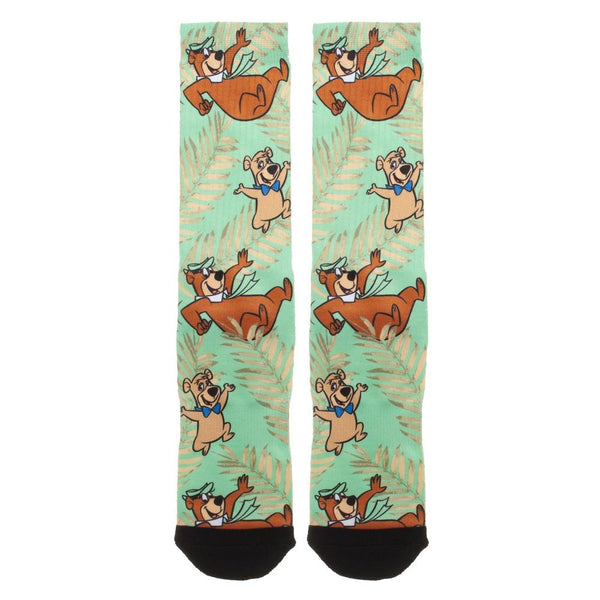 Hanna-Barbera Yogi Bear & Boo Boo Premium Sublimated Crew Socks