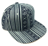 Abstract Tribal Native American Navajo Aztec Snapback Hat