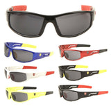 Khan Kids Sport Slim Shield Wrap Around Sunglasses