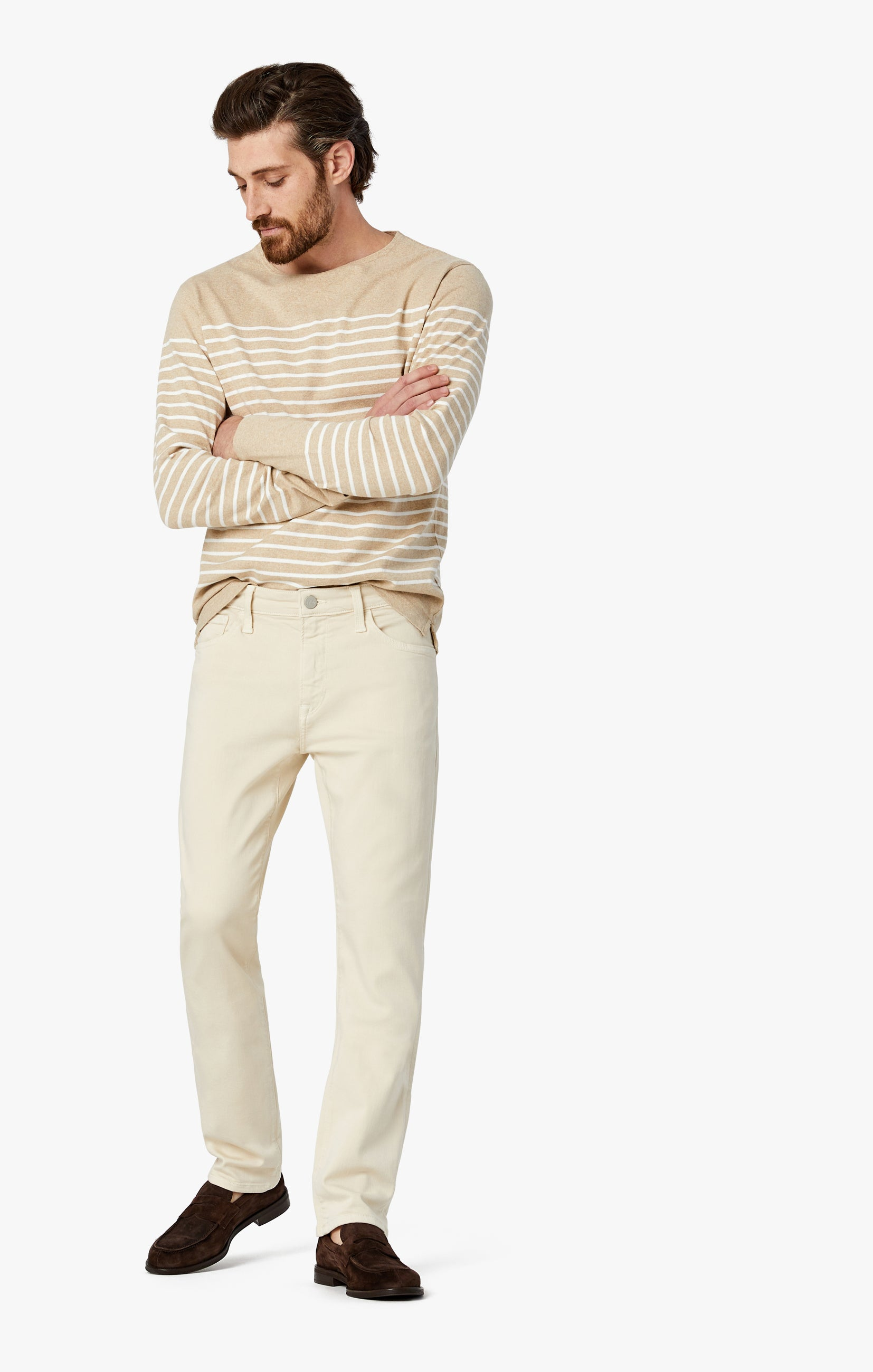 Cool Tapered Leg Pants In Natural Comfort Image 1