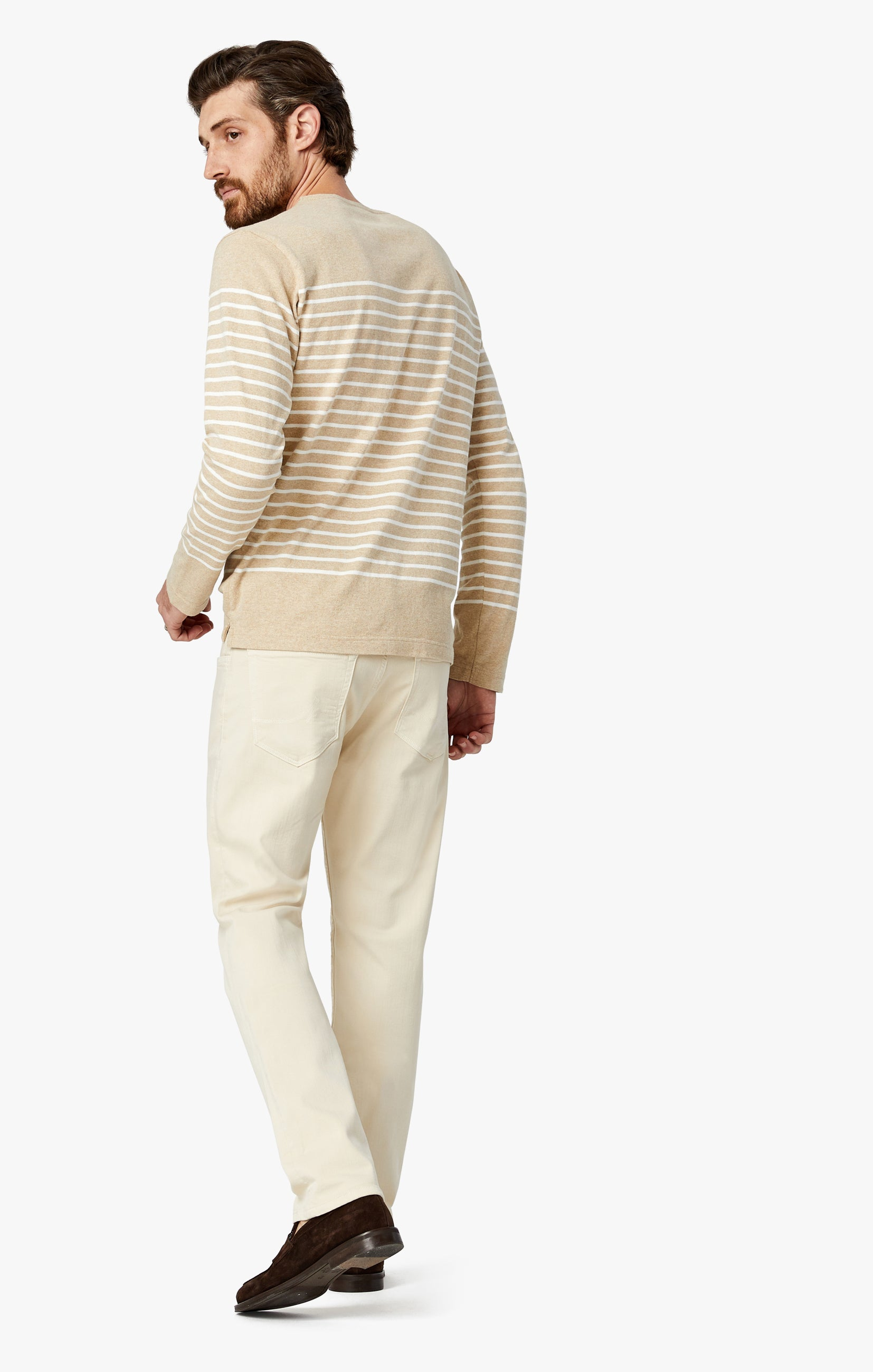 Cool Tapered Leg Pants In Natural Comfort Image 5