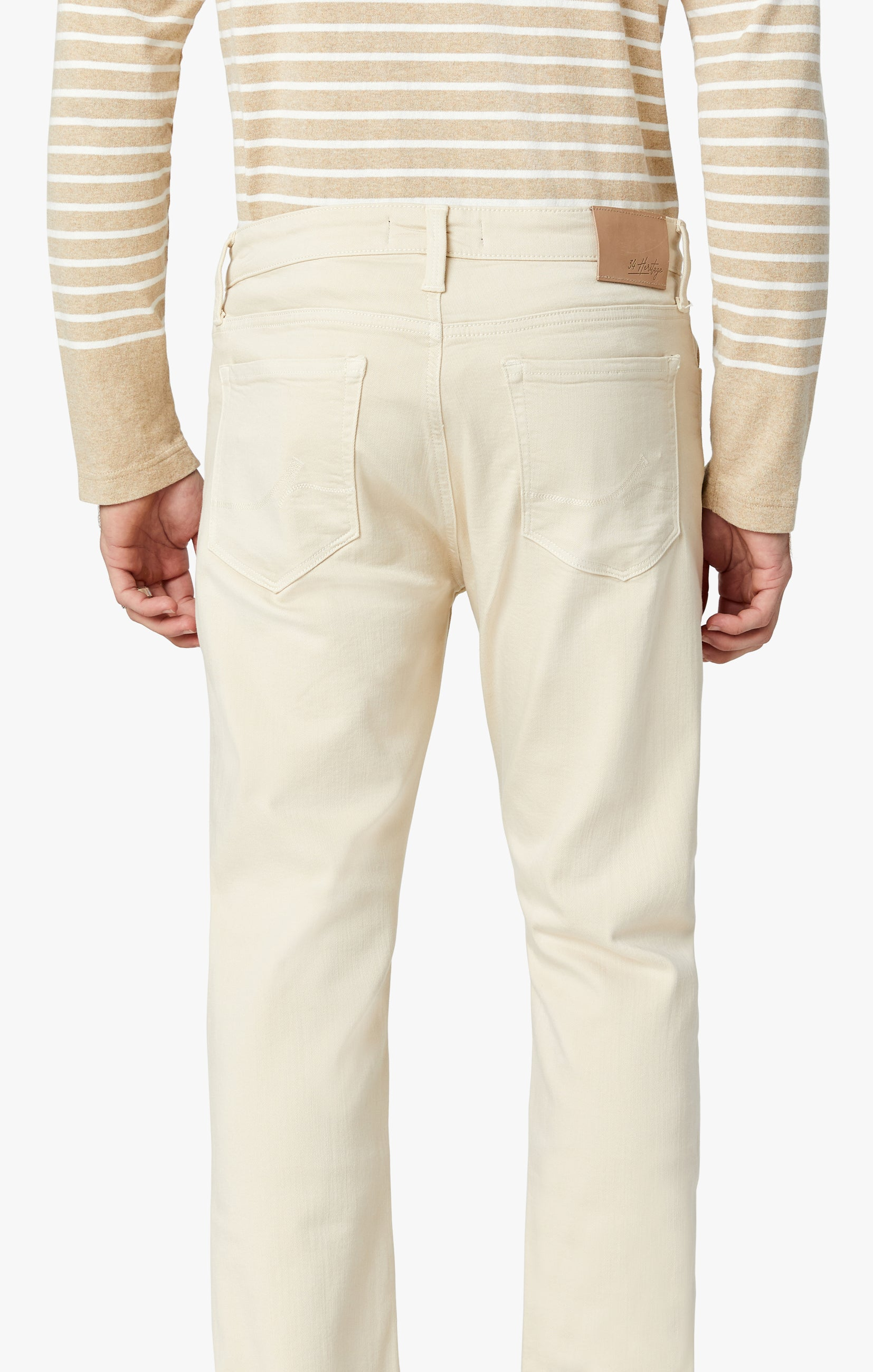 Cool Tapered Leg Pants In Natural Comfort Image 6