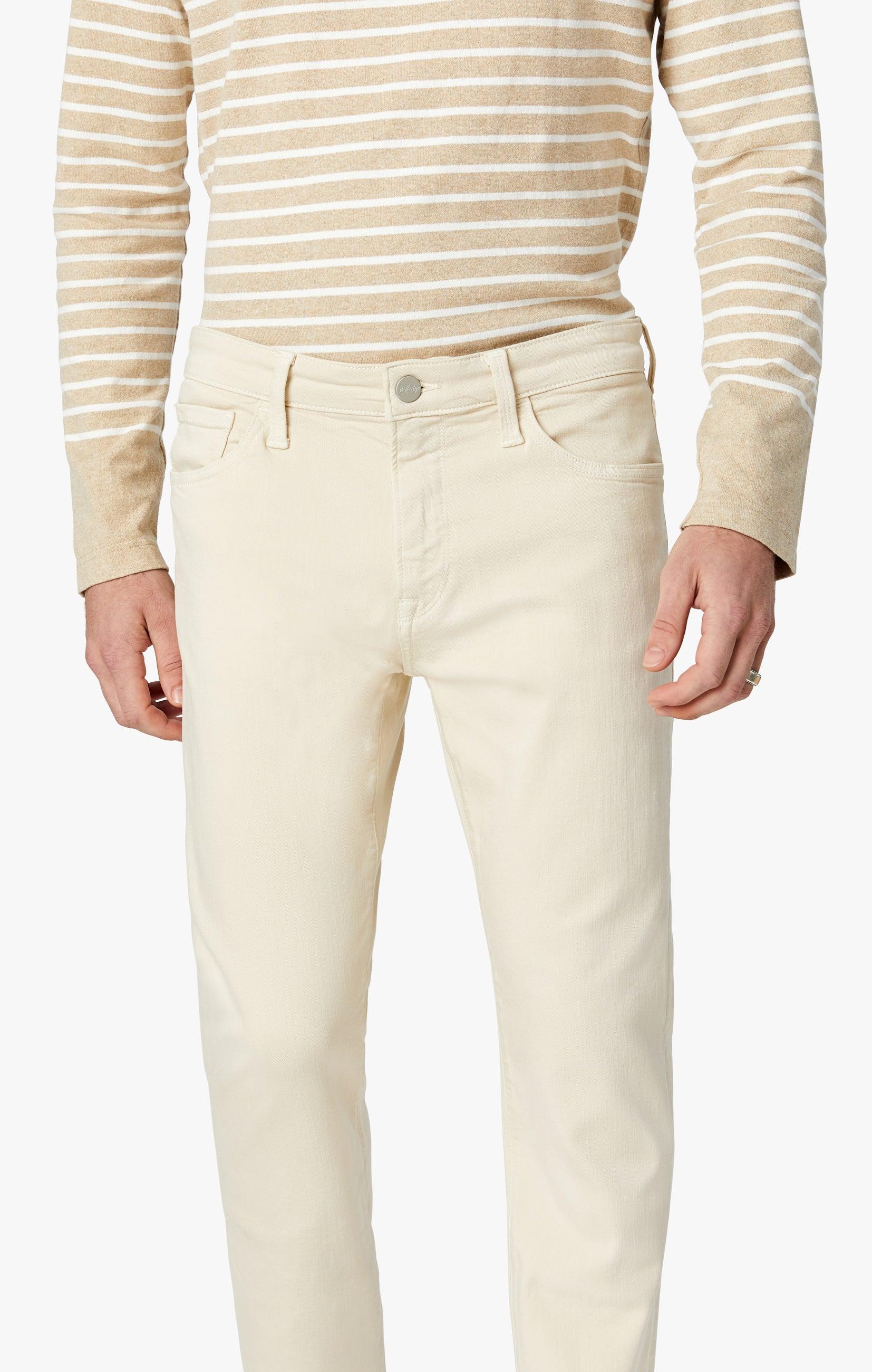 Cool Tapered Leg Pants In Natural Comfort Image 7