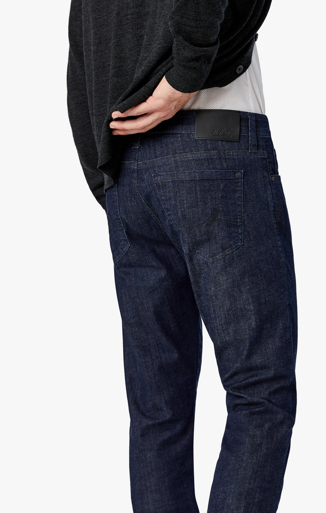 Cool Tapered Leg Jeans In Rinse Kona