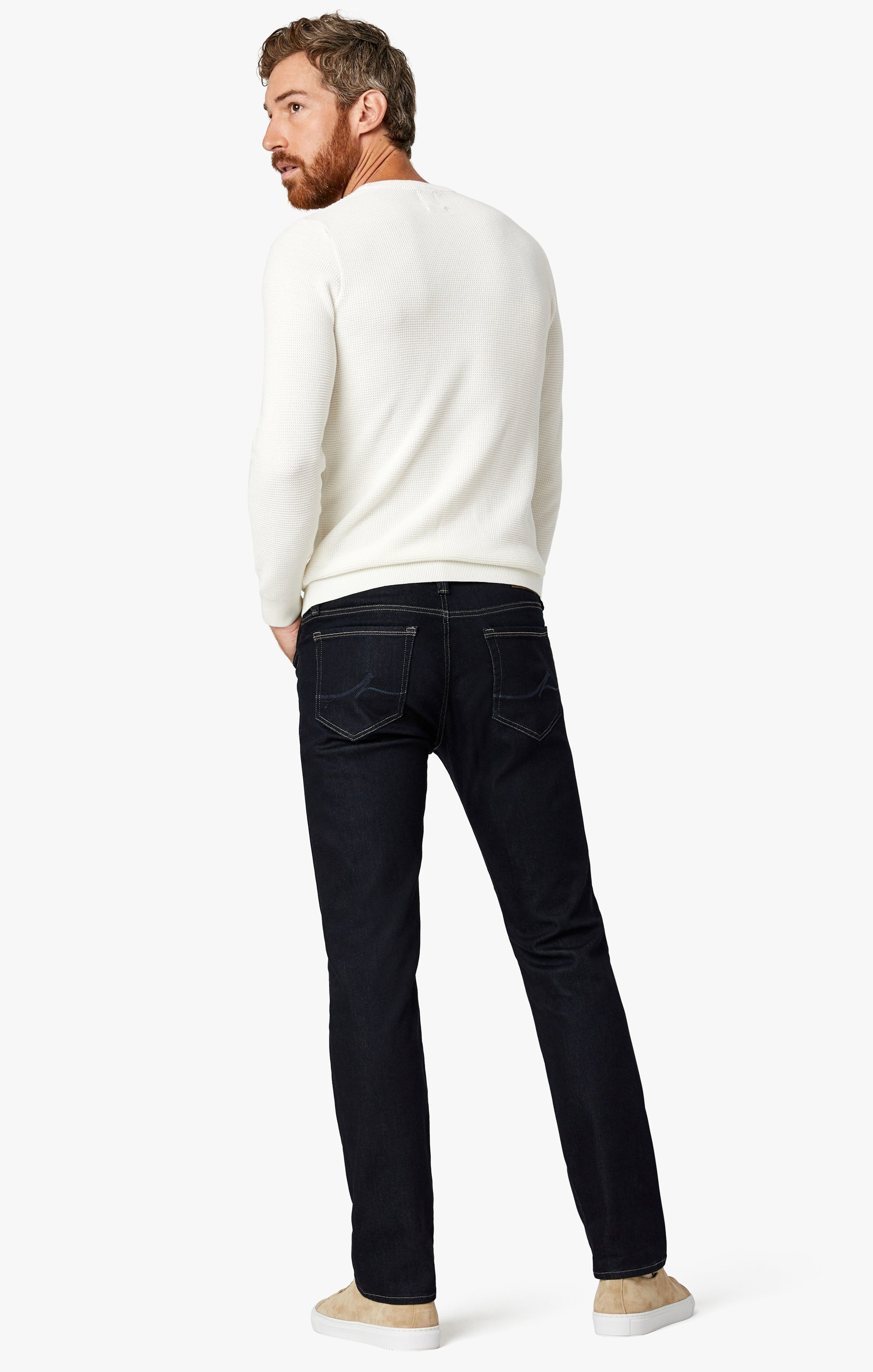 Cool Tapered Leg Jeans In Midnight Rome Image 9