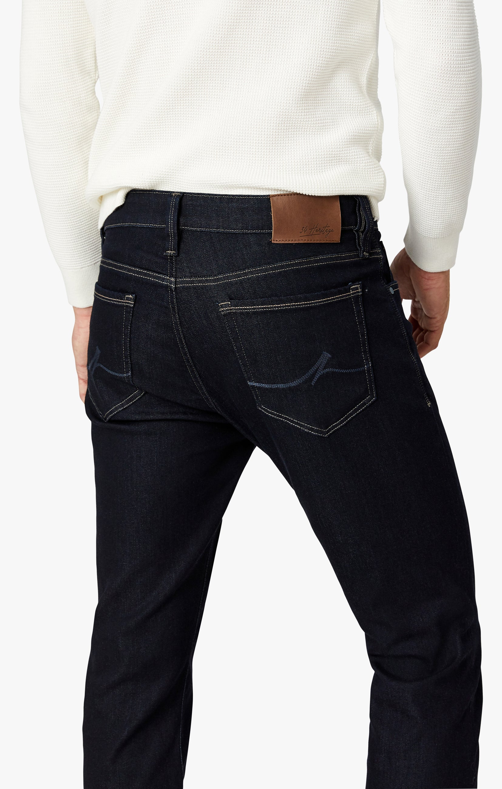 Cool Tapered Leg Jeans In Midnight Rome Image 3