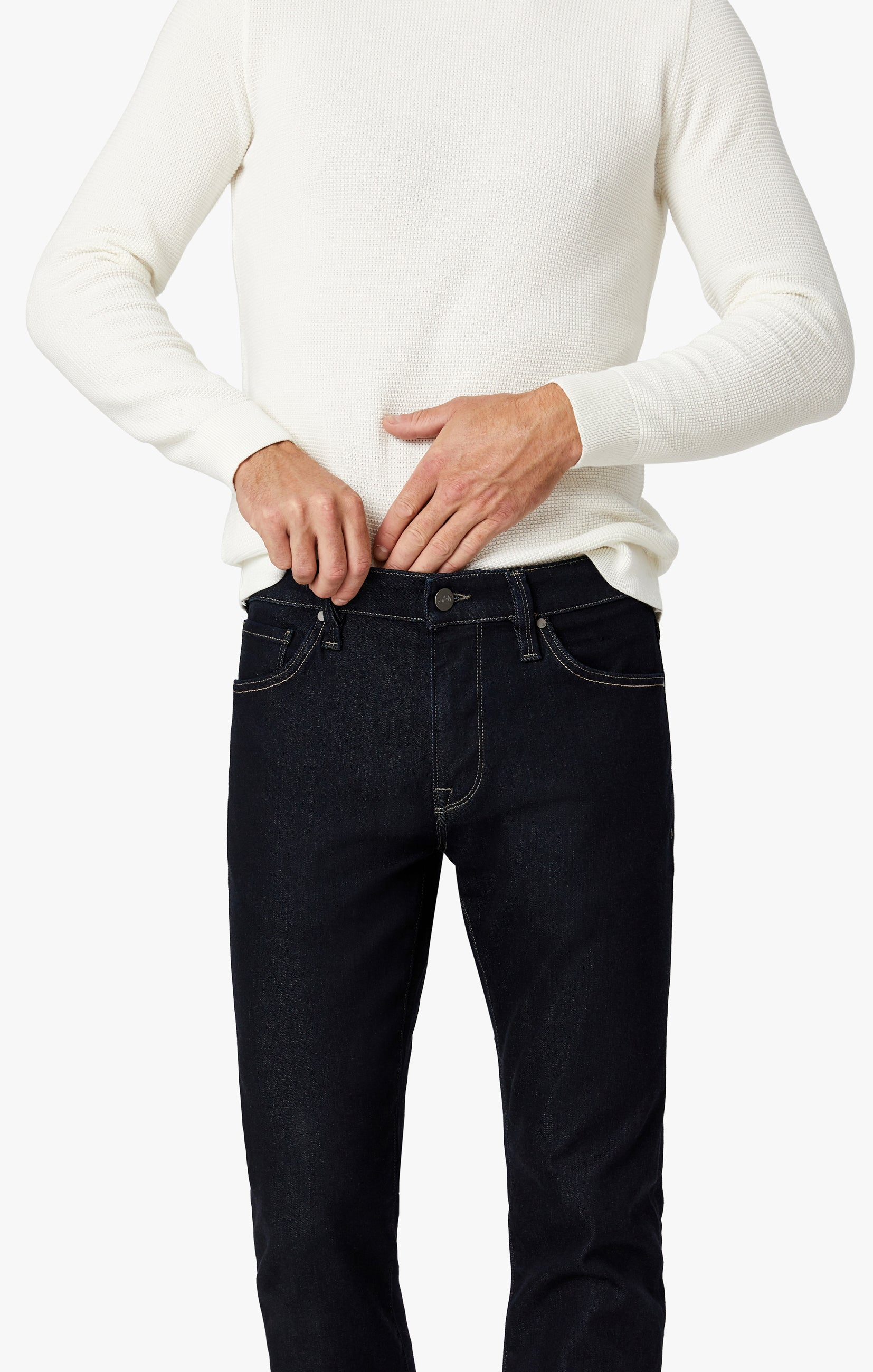 Cool Tapered Leg Jeans In Midnight Rome Image 4