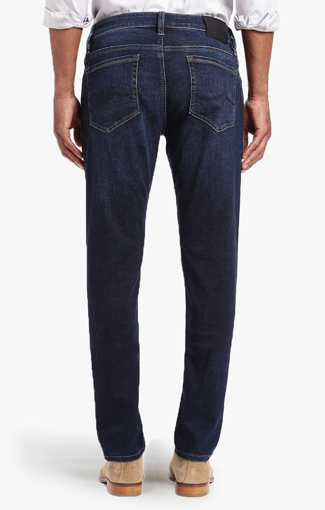 Cool Tapered Leg In Deep Indigo Cashmere