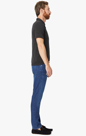 Cool Tapered Leg Jeans In Mid Kona