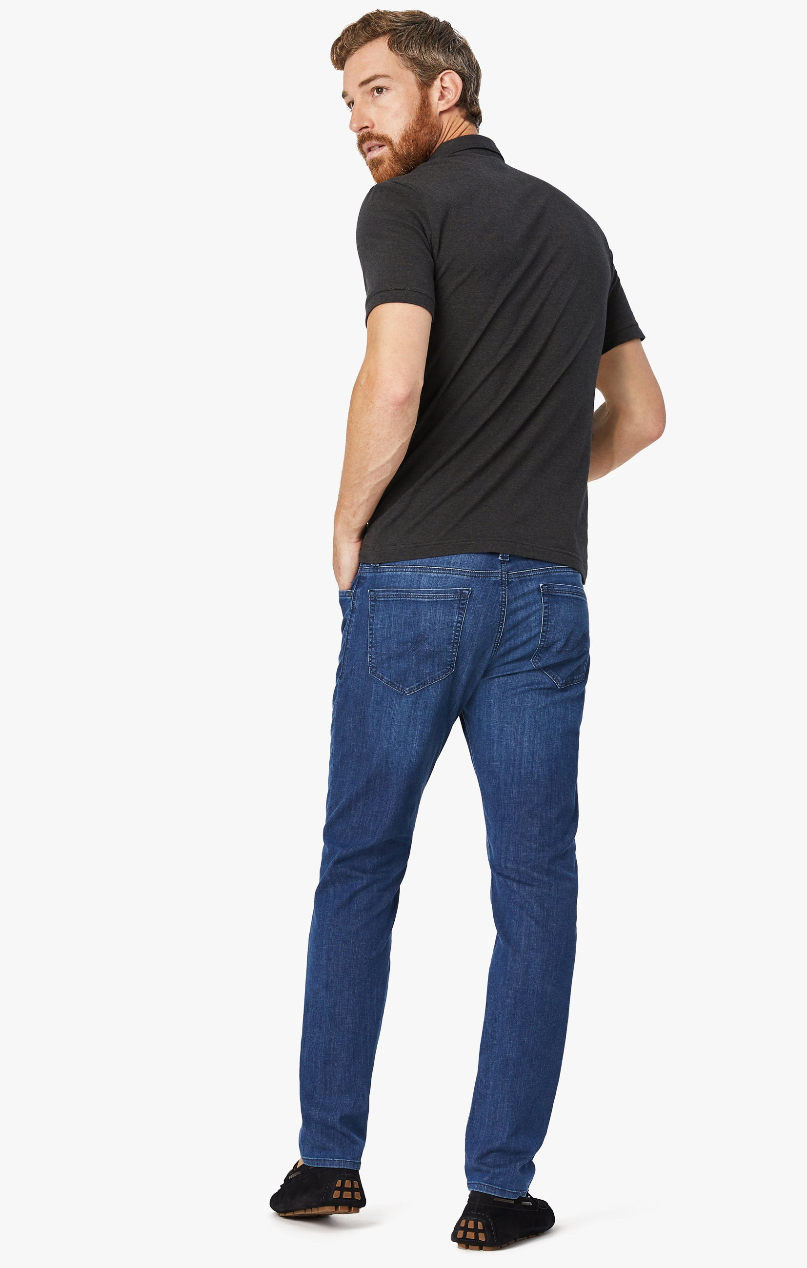 Cool Tapered Leg Jeans In Mid Kona Image 2