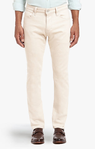 COURAGE STRAIGHT LEG IN LATTE COLORED DENIM