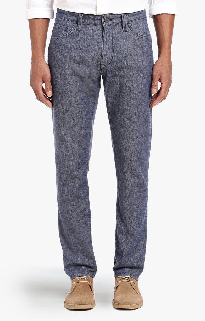 Courage Straight Leg In Indigo Linen Denim