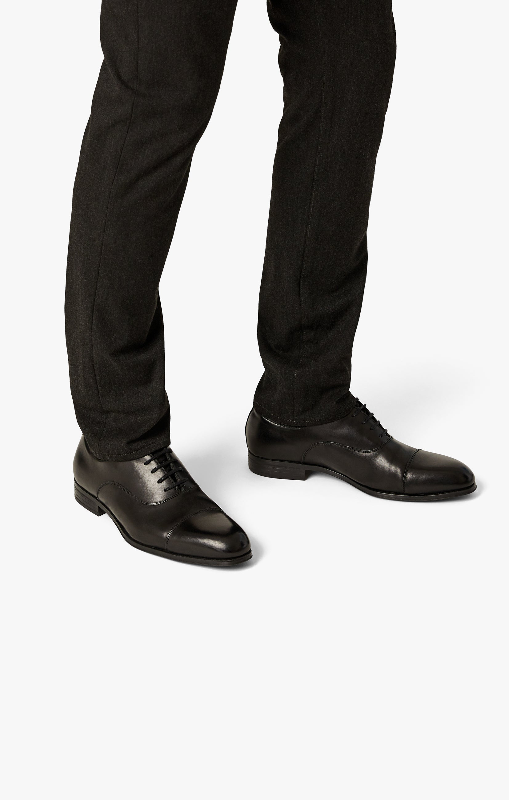 Cool Tapered Leg Pants In Charcoal Winter Cashmere Image 8