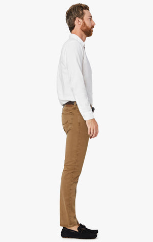 Cool Tapered Leg Pants in Tobacco Twill