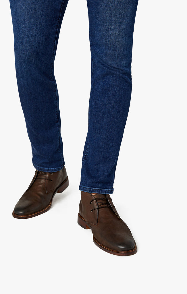 Cool Tapered Leg Jeans In Dark Shaded Ultra