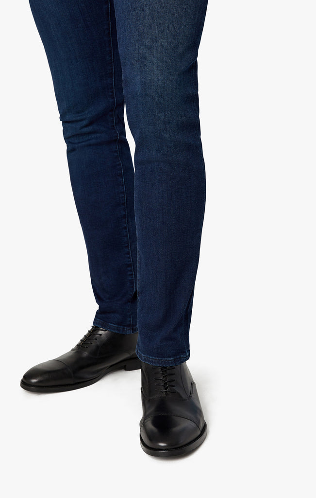 Cool Tapered Leg Jeans In Deep Shaded Ultra
