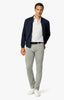 Cool Tapered Leg Pants In Light Grey Comfort Thumbnail 2