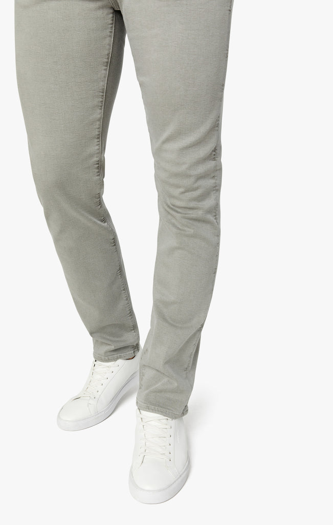 Cool Tapered Leg Pants In Light Grey Comfort