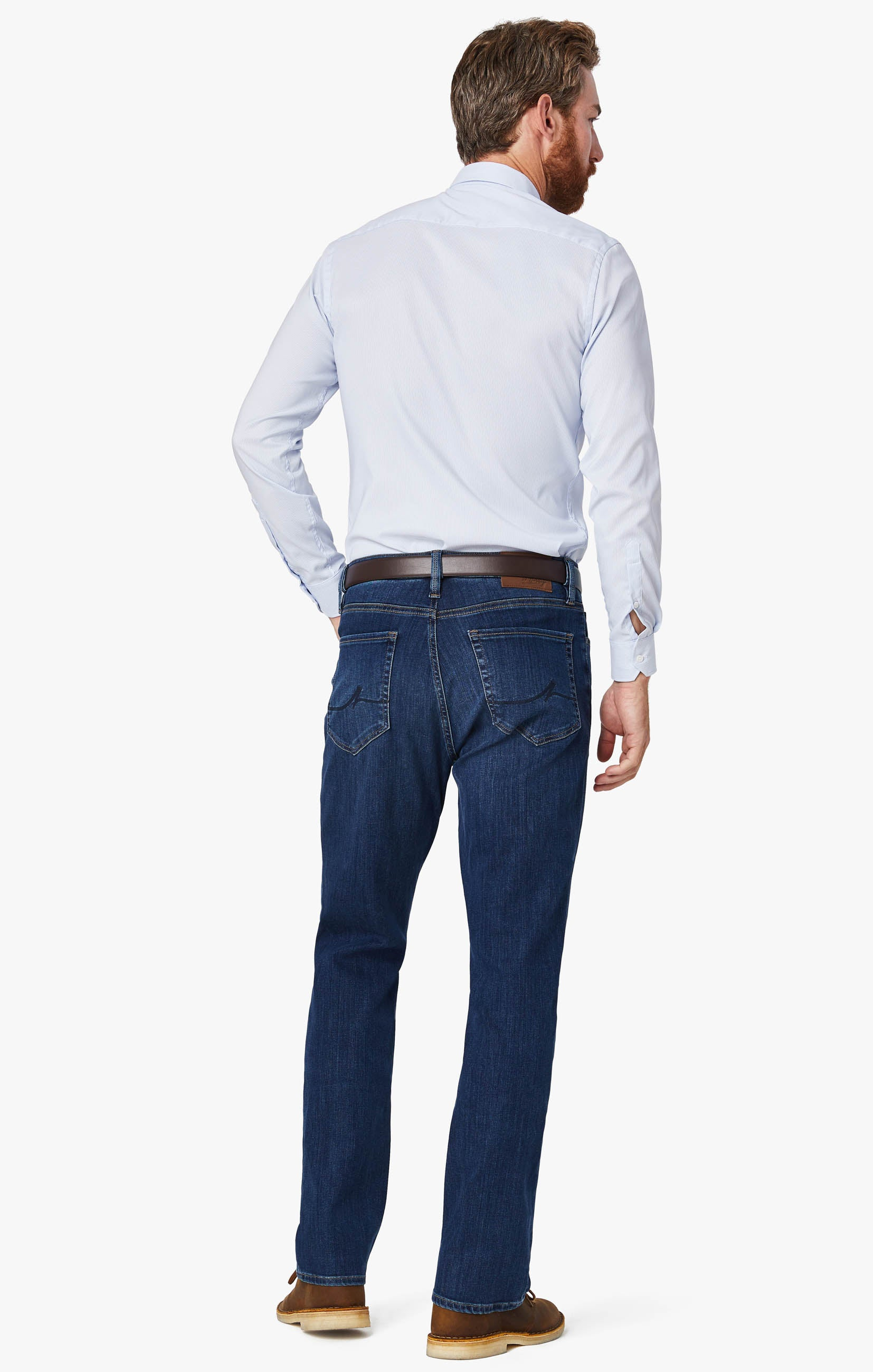 Cool Tapered Leg Jeans In Mid Siena Image 1